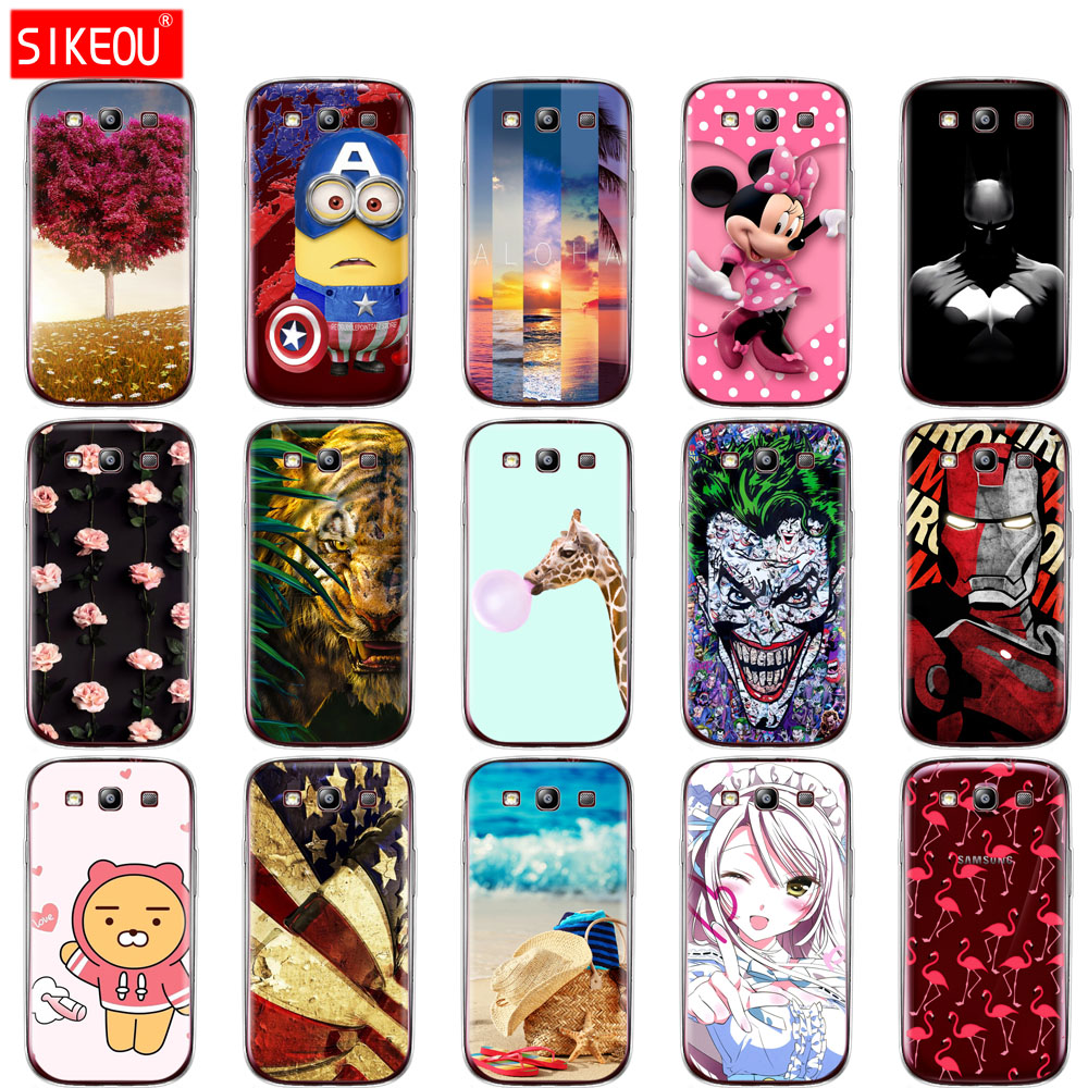 Soft TPU Silicone Case For Samsung Galaxy S3 Cover For Samsung S 3 Siii GT-I9300 GT-I9301 GT I9301 I9300 I9301i I9300i I9301