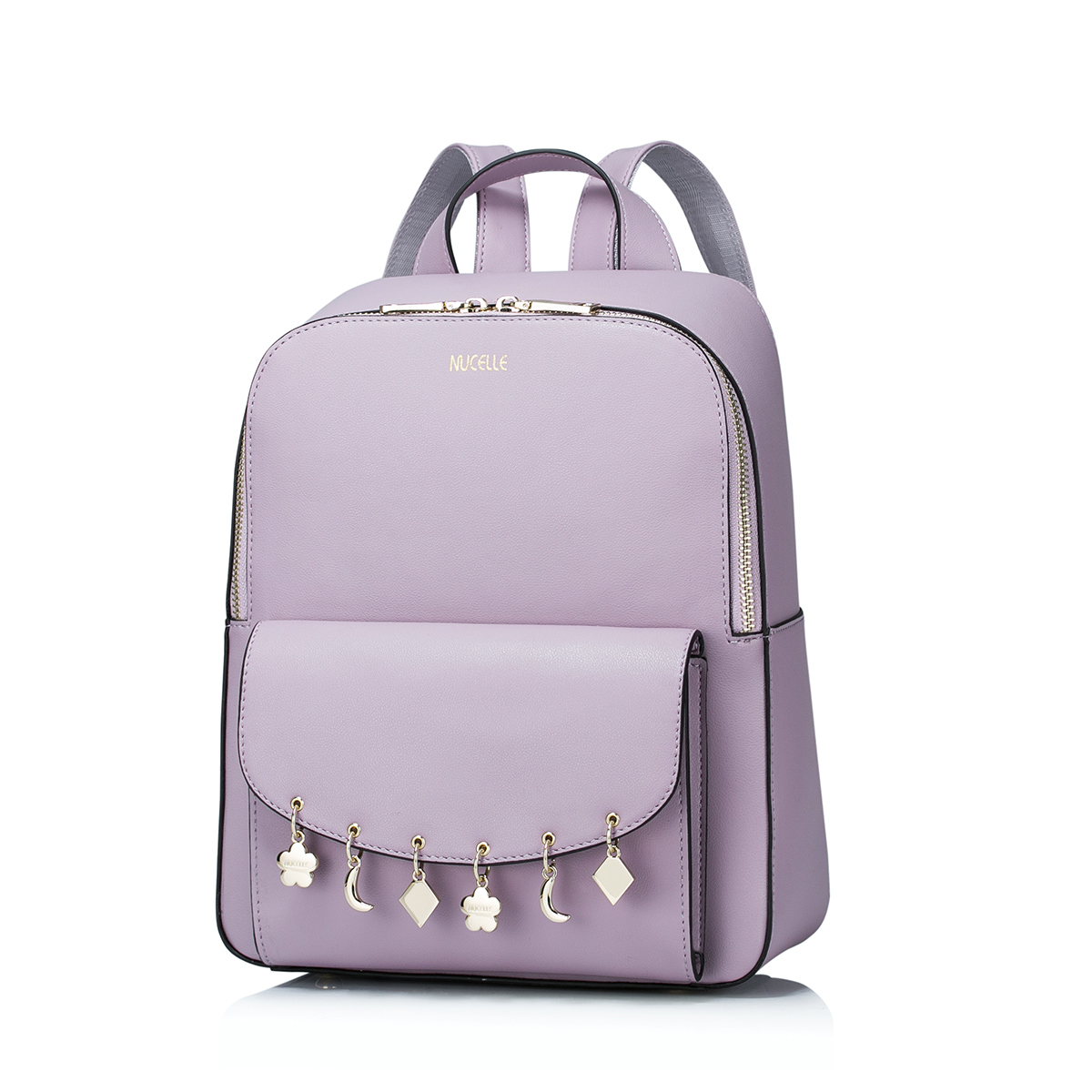 Hot Sale Fashion Tassel Hanging Drop PU Leather Casual Women Lady Backpacks Daypacks School Shoulders Bag Girls Student nucelle brand new design fashion drawstring gemstone lock zipper cow leather casual women lady backpacks shoulders school bag
