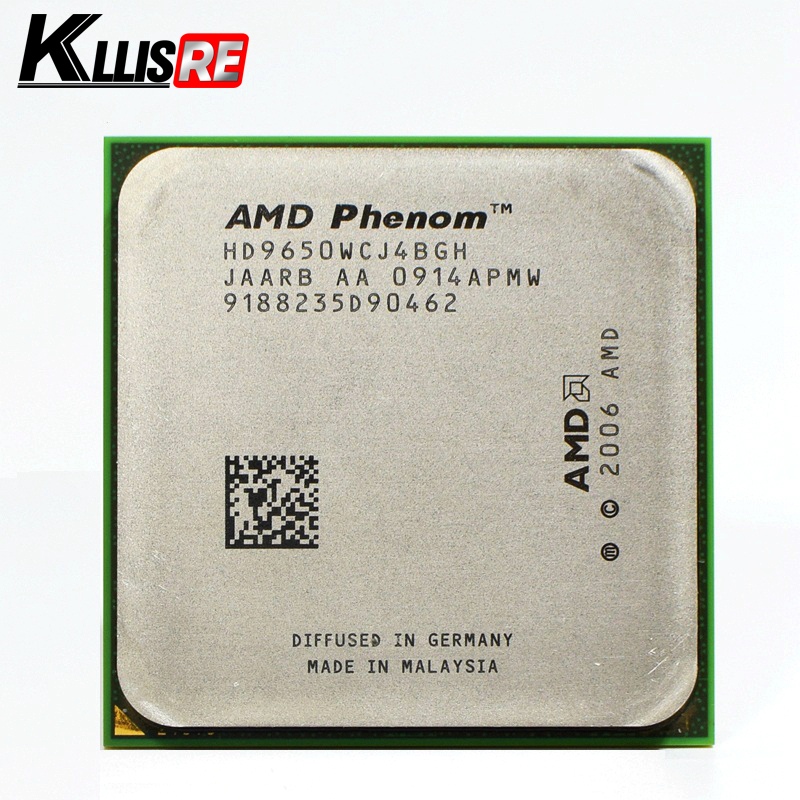 AMD Phenom x4 9650 Процессор 2.3 ГГц 4 ядра Socket AM2 + процессор