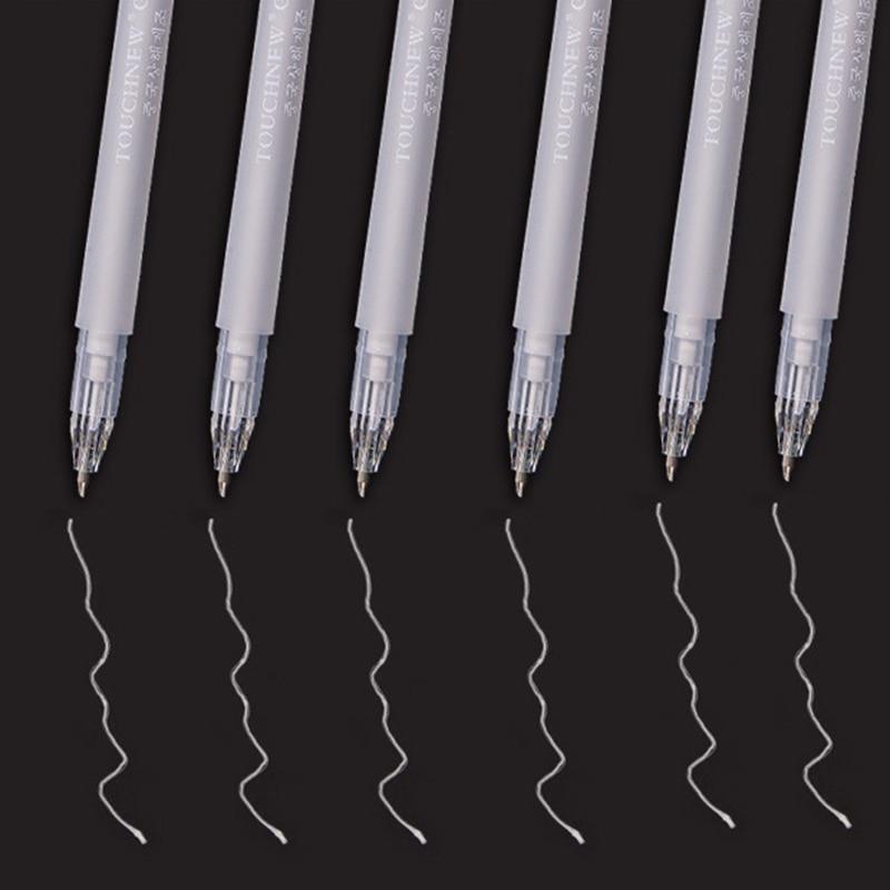 0 8mm Highlight Pen 3 Color Sketch Drawing Graffiti Art Markers Manga Design Hook Liner Pen Stationery School Art Supplies in Art Markers from Office School Supplies