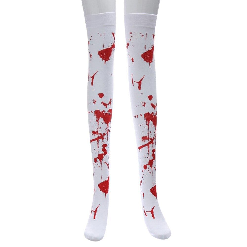 3 Pairs Women Knee Socks Soft Cotton Socks Long Tube Socks for Halloween Favor Daily Wear