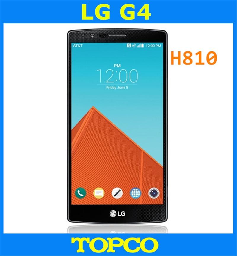 "bilder für LG G4 H810 AT & T Original Unlocked GSM 3G & 4G Android Quad-core RAM 3 GB 5,5 ""16MP 32 GB ROM WIFI GPS Handy dropshipping"
