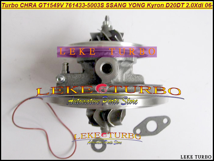 Turbo cartridge chra GT1549V 761433 6640900880 6640900780 761433-2 761433-3 761433-4 761433-5 for Ssang-Yong Actyon Kyron D20DET turbo chra 1454224 0001 14542240001 a6620903080 turbocharger cartridge for ssang yong musso 2 9 td 97 05