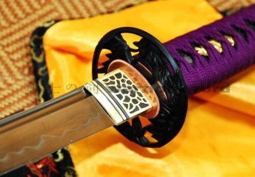 Ručno rađena japanska katana mač Glina Kaljeno UNOKUBI ZUKURI - Kućni dekor - Foto 4