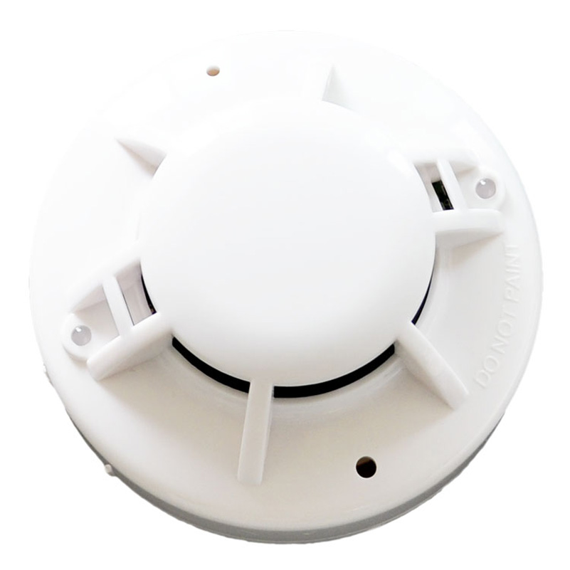 Ceiling Mounted Network Gas Detector Sensor Home Security Kitchen Gas Leakage Detector DC24V Combustible Gas Alarm Relay Output