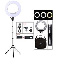 18inch LED Photography Light 50W 480PCS LED Ring Light Bi color 3200K 5600K Photo Studio Video Makeup Lamp With Tripod Stand