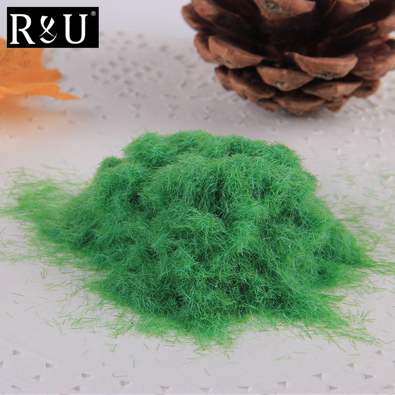 1PCS 30g Grass Powder For Architectural Model Making Materials Field Flock Grassland Diorama Wargame Miniature Layout image