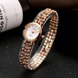 Lypai розовое золото Повседневное Кварцевые женские наручные часы эллипса Творческий Для женщин модные роскошные часы платье кварцевые часы