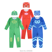 Costume For Boys Girls Halloween Cosplay Suits Heroes In Masks Pajamas Suit Carnival Costumes Children Clothing