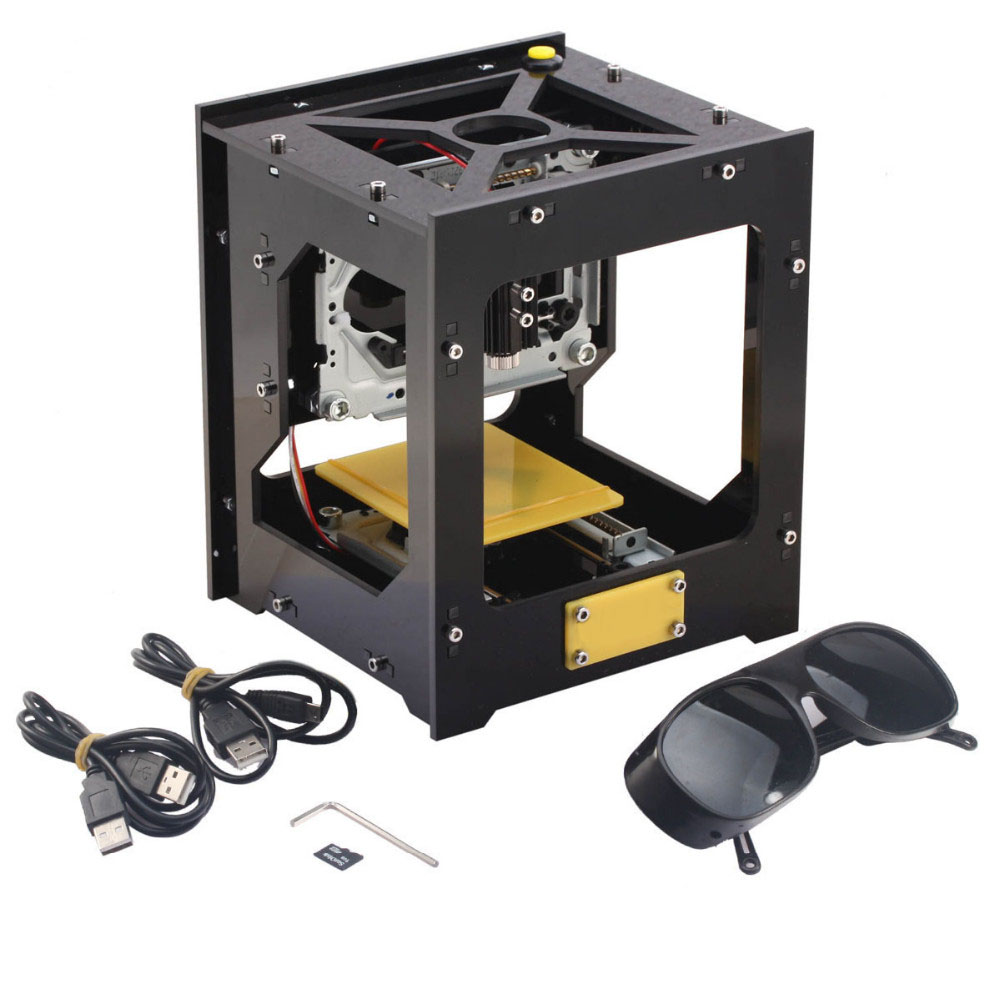 New Hot Sale USB Laser Engraver Printer Cutter DIY Engraving Machine Black Color Laser Engraving Picture Printer High Quality hot sell high quality cw3000 water chiller cooling laser tube for laser machine