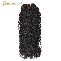 Peruvian Kinky Curly Human Hair Double Drawn 1/3/4 Bundles Funmi Hair Extension Pixel Curly Double Drawn Remy Hair For Women 1b