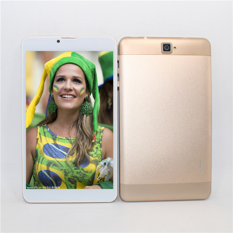 7-inch MTK7731 Quad-core 3G Phone Call Android 5.1  TabletPC 1GB+16GB GPS Bluetooth Black Silver Gold