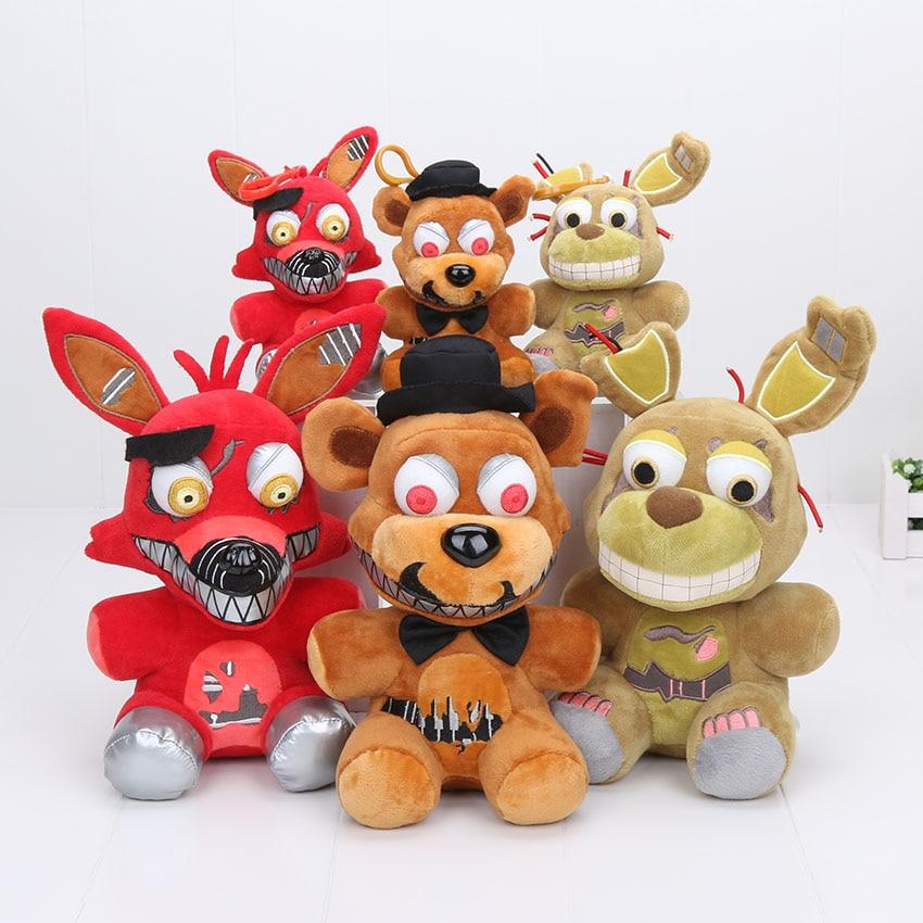 3pcs Set 25cm 15cm Five Nights Freddy Toy Fnaf Foxy