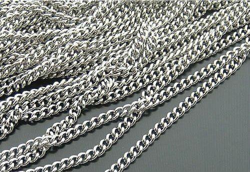 e036b9053eff 20 m lote 2 mm w níquel metal color especial Cadenas Link cadena joyería  Accesorios resultados