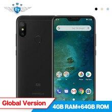 Xiao mi mi A2 Lite 4 GB 64 GB küresel SÜRÜM 5.84 ''Snapdragon 625 Cep telefonu 12MP AI ÇIFT kamera 4000 mAh Android Bir Android ...