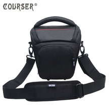 COURSERR New Fashion Nylon Black 11 11 21cm Camera Shoulder Bag Digital Camera SLR Camera Bag