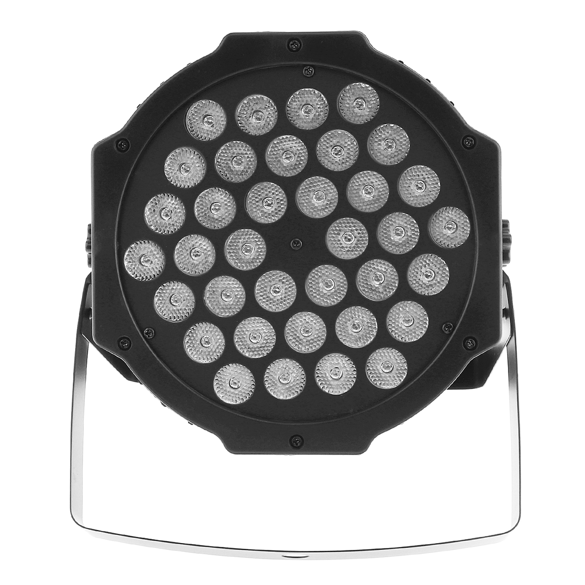 2Pcs 36LED RGB Stage Light Effect Stroboscope Flash Lamp with Stand and DMX Interface for Disco / Stage / Bar Effect US Plug