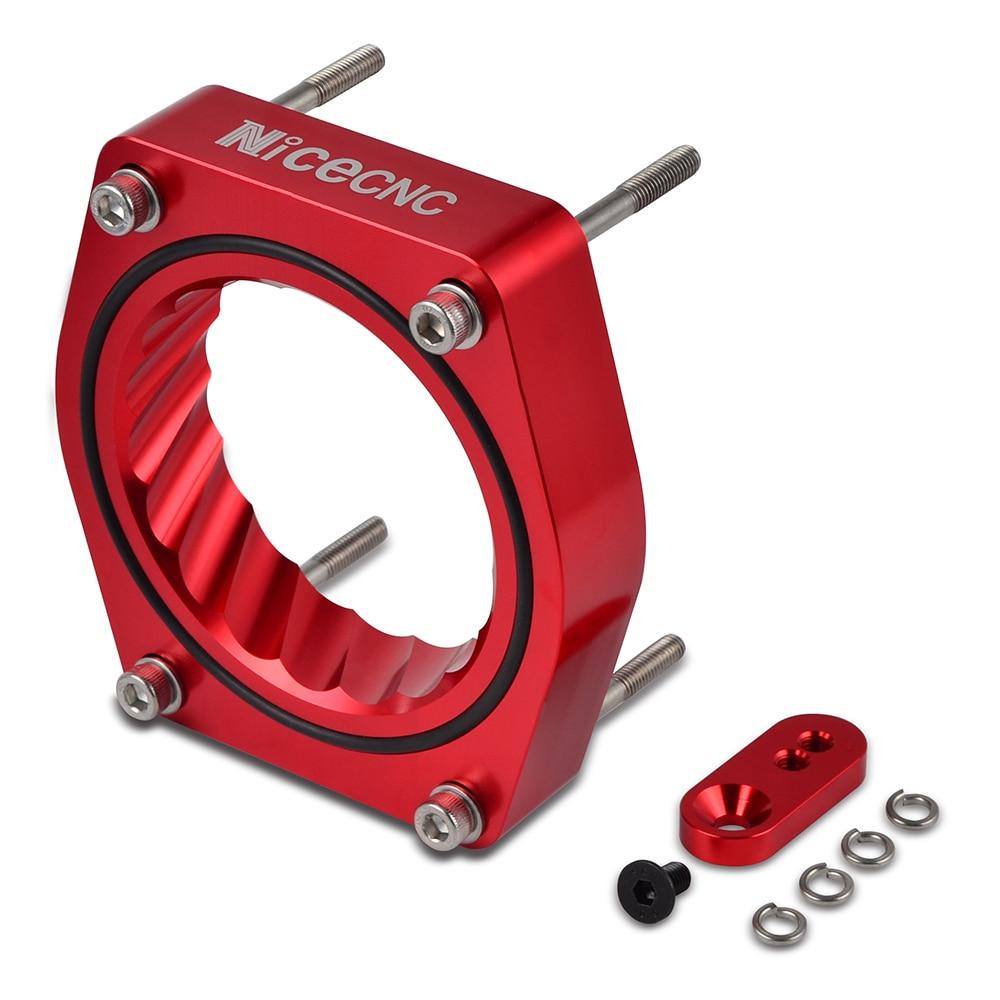 NICECNC Throttle Body Spacer Intake Manifold Gasket For Chevrolet Silverado Suburban 1500 Tahoe 4.8L 5.3L 6.0L 6.2L