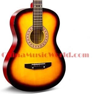 38 inch Acoustic/ Basswood plywood Back & Sides/ AFANTI acoustic guitar (ACM-165)
