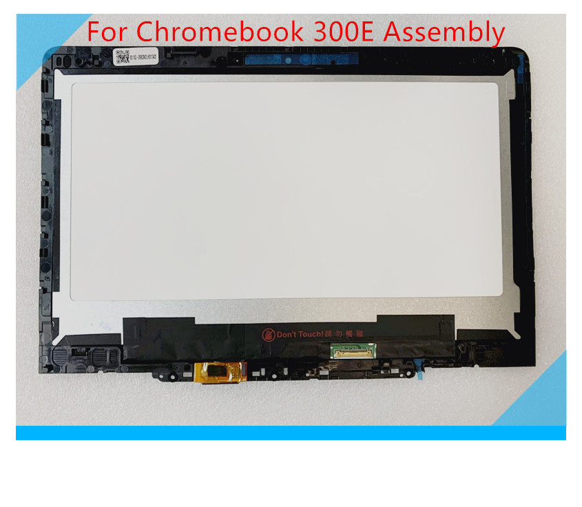 "11.6 ""For Lenovo 300E touch screen Chromebook HD LCD module w / frame 5D10Q93993 boats today test"