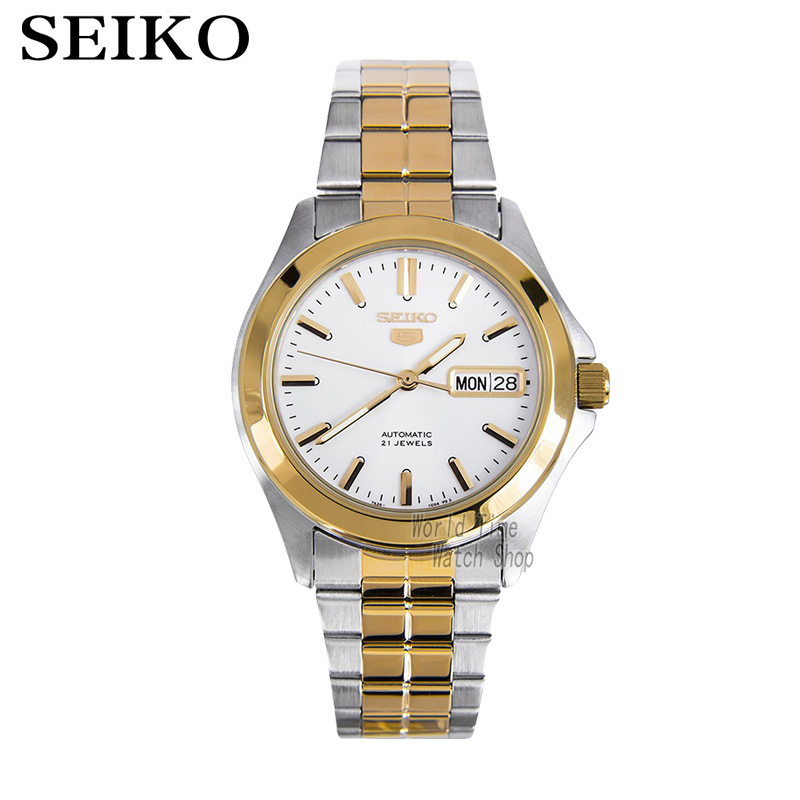 SEIKO Shield No. 5 Casual Fashion Stainless Steel Automatic Mechanical Watch SNKK94K1 цена и фото