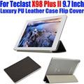Case original para teclast x98 plus ii 9.7 pulgadas de lujo de cristal de nuevo pu leather case cubierta del tirón para x98 plus ii 2 tablet pc TL07