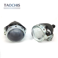 2pcs Lot Car Headlight 3 0 Inch Aluminum Bi Xenon Projector Lens 6000K Motorcycles Head Light