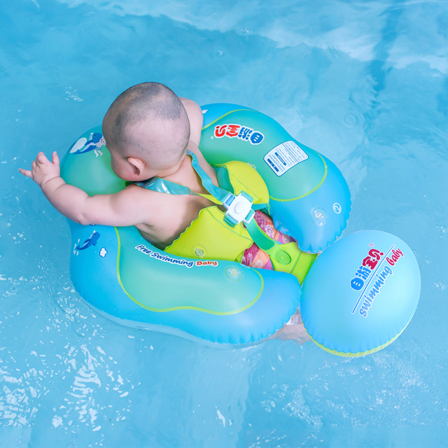 New Baby Swim Ring Float Inflatable Kids Swimming Pool Accessories ...