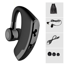 V9 Handsfree Wireless Bluetooth font b Earphones b font Noise Cancelling Business Wireless Bluetooth Headset with