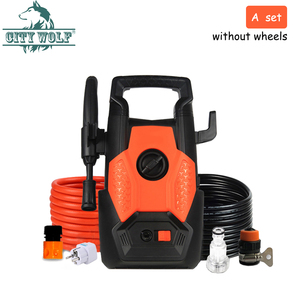 Image 5 - 220V household high pressure car washer 8MPA with standard car washer accessories