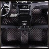 Car Floor Mats for Mercedes Ben E class W110 W114 W115 W123 W124 W210 W211 W212 AMG E43 E53 E63 Car Styling Floor Carpet Liners