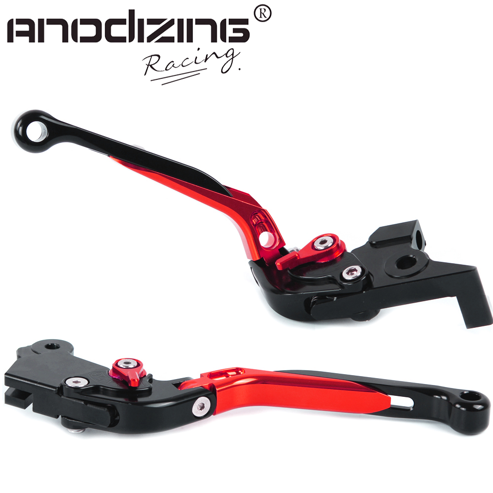 F-16/M-48 Adjustable CNC Extendable Folding Brake Clutch Levers For Benelli BJ 600GS BN600I BJ 300GS BN300 TNT300 BN600 BJ600 gt motor f 16 dc 80 adjustable cnc 3d extendable folding brake clutch levers for moto guzzi breva 1100 norge 1200 gt8v