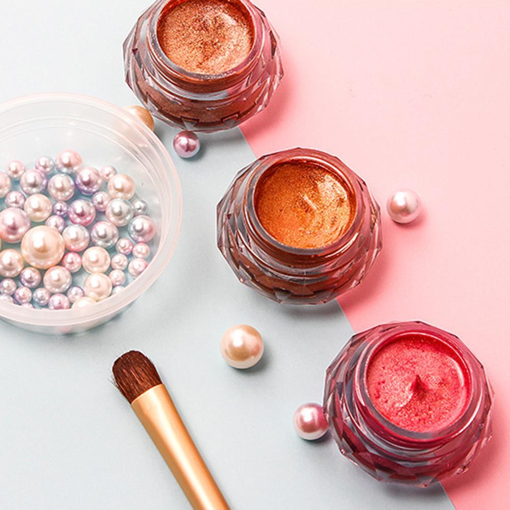 Eye Shadow Jelly Gel Highlighter Powder 3d Face Body Persistent Mermaid Eye Shadow Paste Makeup Beauty & Health