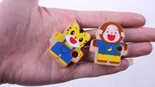6pcs Animal Threading Wooden Educational Toys Set
