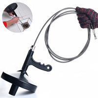 4 M Practical Bendable Sewer Cleaner Hand Stainless Steel Wire Streak Dredge Pipe Cleaning Hair Tools