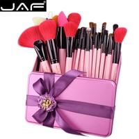32 Makeup Brush Set Natural Hair Makeup Brushes 32 Pcs With Case Saint Valentine S Day