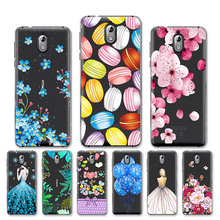 Painted Case For Nokia X6 2018 Case 6.1 Plus 3.1 5.1 X5 3 5 6 2018 Transparent Silicone Soft TPU Back Cover Protective Shell аксессуар чехол для nokia 5 1 plus x5 2018 neypo soft matte dark blue nst6125