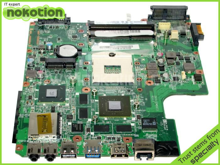 NOKOTION A000074700 DATE5DMB8F0 For Toshiba satellite L700 L745 laptop motherboard Main board Intel DDR3 31TE5MB00L0 for toshiba satellite l745 l740 intel laptop motherboard a000093450 date5mb16a0 hm65 tested