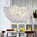 Creative personality is the bar sitting room dining-room lamp LED the bird's nest children master bedroom light romantic dinner