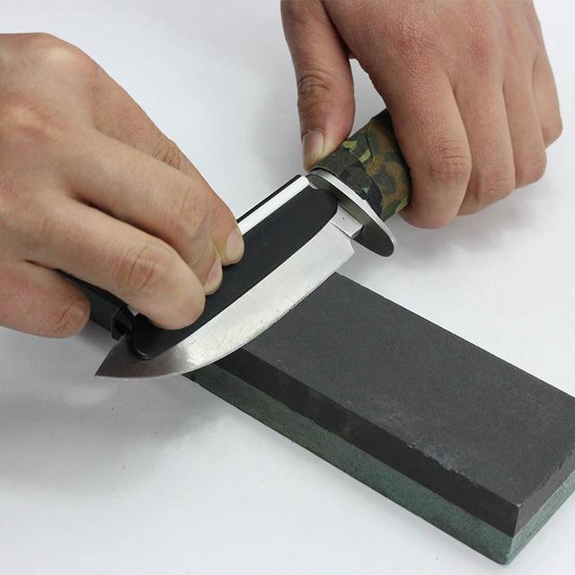 Hot Black Plastic Ceramic Reusable Knife Sharpener Angle Guide Whetstone Sharpening Tool Kitchen Knives Accessories