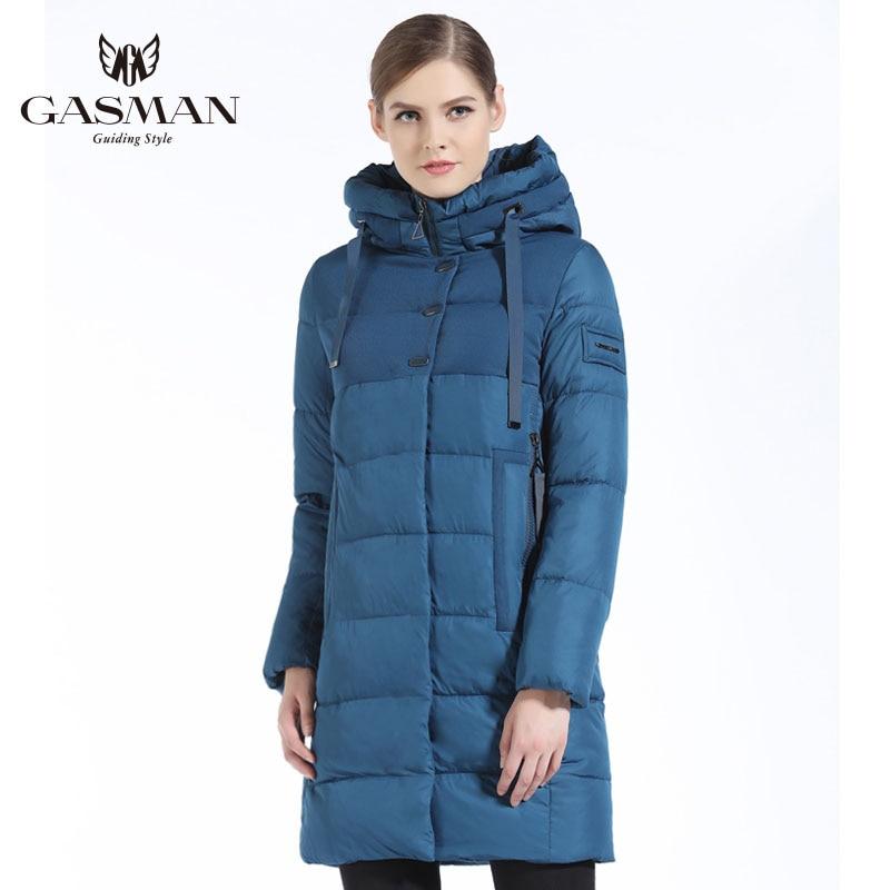 GASMAN 2019 Brand Women Winter Jacket Casual Women Thickening Hooded Down   Parka   Women's Windproof Coat Bio Down Jacket for Women