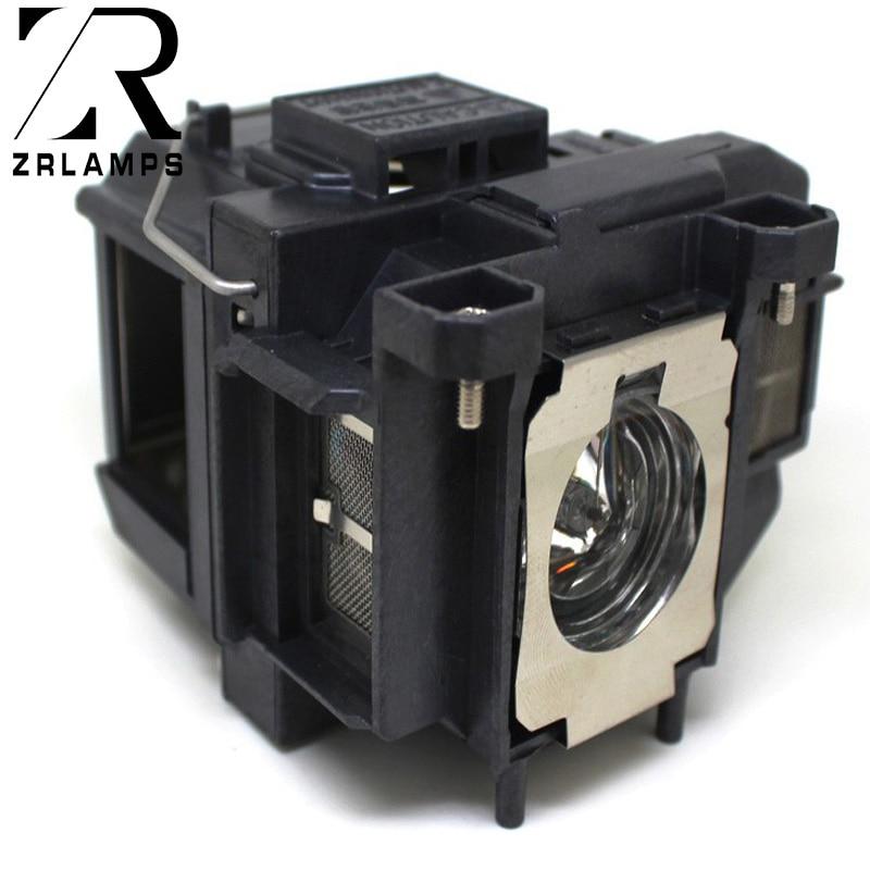 ZR ELPLP67 Projector Lamp H433B/H534B/PowerLite1221/1261W/HC 500/HC 707/HC 710HD/HC 750HD/S11/W16/W16SK/X12/X15/HC 600/S12/X14+