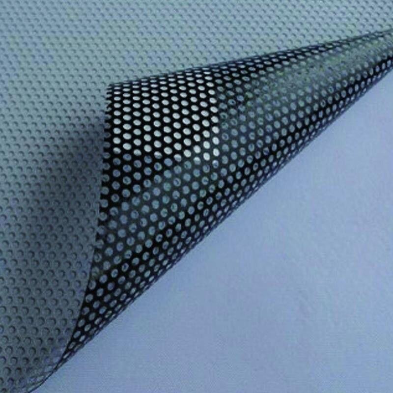 1.37x3 m One-Way perforé vinyle blanc intimité fenêtre Film adhésif verre Wrap Roll