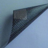 1.37x3m One Way Perforated White Vinyl Privacy Window Film Adhesive Glass Wrap Roll