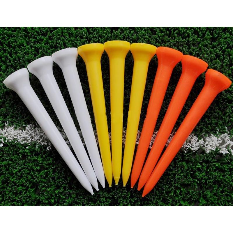 Hot Sale 69mm Plastic Colorful font b Golf b font Annulus Tees font b Golf b