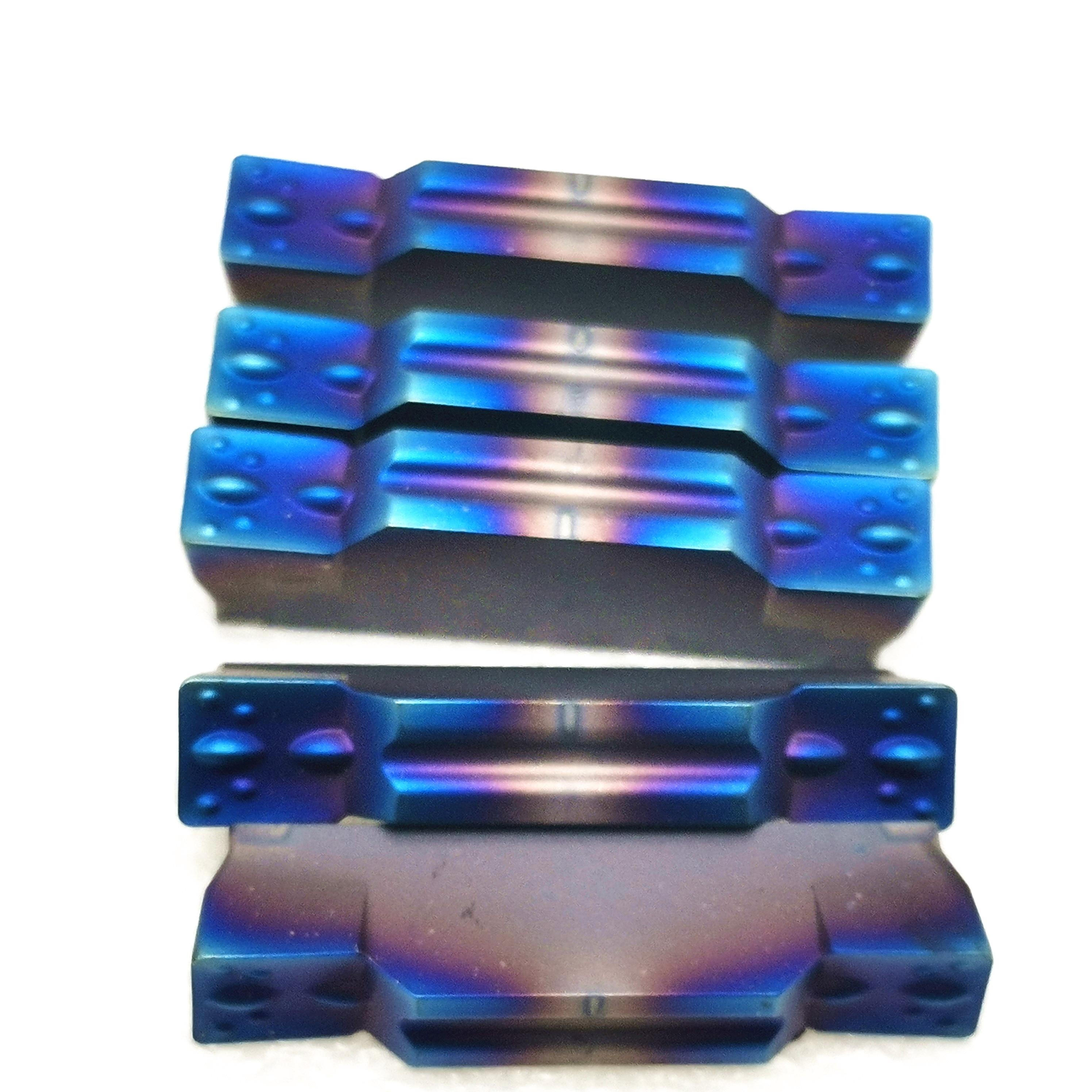 Carboneto de tungstênio que sulca a ferramenta mgmn200 mgmn300 mgmn400 que parte e que sulca nano-revestimento, desgastar-resistente para girar o suporte da ferramenta