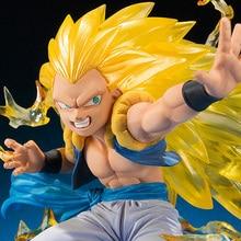 Dragon Ball  Gotenks Action Figures,15CM Figure Collectible Toys, Action Figure Collectible Brinquedos Kids Model Toys Gift