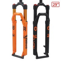 MTB Bicycle Fork Magnesium Alloy Air Suspension 27.5 29er Inch Straight Thru Axle 9x100 mm QR Quick Release Bike Fork Lockout