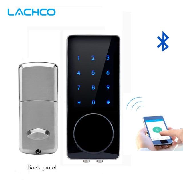 Apartment Finding App: LACHCO Bluetooth Lock Smart Electronic Door Lock APP, Code