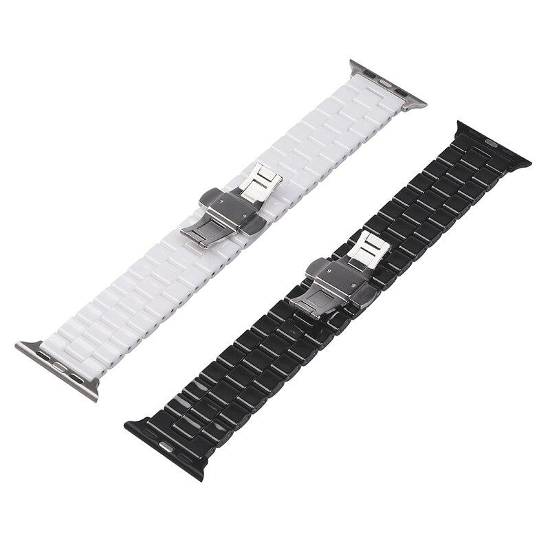 Correa de reloj de cerámica de 44 mm para Apple Watch 38 mm Reloj de - Accesorios para relojes - foto 6